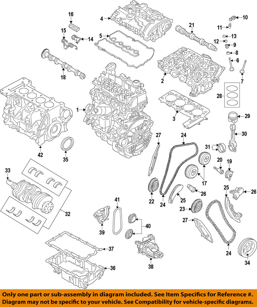 hight resolution of details about mini oem 07 15 cooper engine timing camshaft cam gear 11367545862