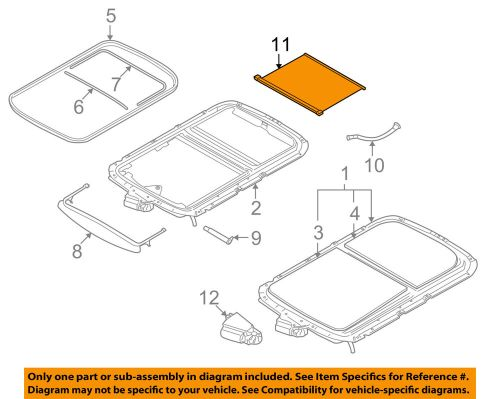 small resolution of details about mini oem 07 14 cooper sunroof sun roof sunshade shade cover 54102757016