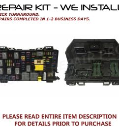 details about repair kit for 2007 2013 jeep grand cherokee liberty wrangler tipm fuse box [ 1000 x 962 Pixel ]