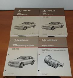 1995 lexus gs300 repair manual electrical wiring diagram automatic transmission ebay [ 1000 x 963 Pixel ]