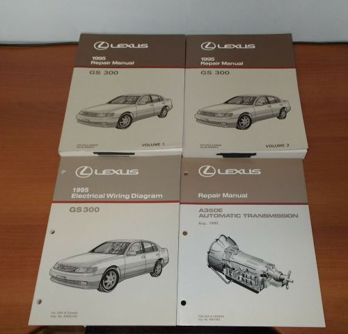 small resolution of 1995 lexus gs300 repair manual electrical wiring diagram automatic transmission ebay