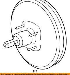 details about ford oem power brake booster at4z2005a [ 875 x 1000 Pixel ]