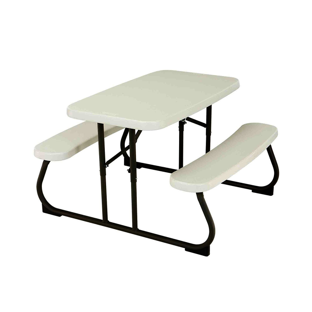 Childrens Folding Table And Chairs Lifetime 2 7 Ft 83 M Children S Folding Picnic Table Beige 81483004785 Ebay