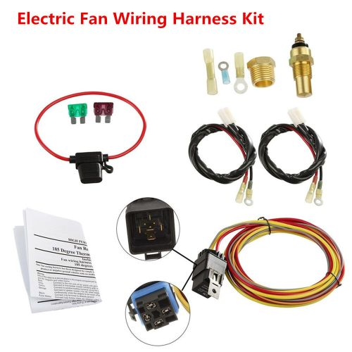 small resolution of electric fan wiring harness wiring diagram newdual electric engine cooling fan wiring harness 185 165 thermostat