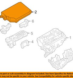 details about toyota oem 14 16 corolla electrical fuse relay box upper cover 8266202660 [ 1000 x 798 Pixel ]