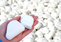 DECORATIVE MARBLE EXTRA WHITE Stones / Pebbles CHIPPINGS ...
