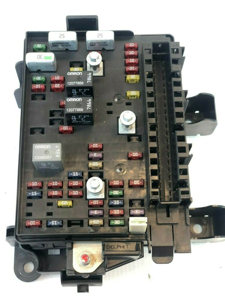 hight resolution of details about engine fuse box trailblazer 2002 2003 0630201777