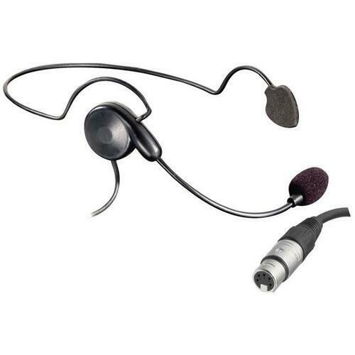 medium resolution of details about eartec cyber lightweight headset with 5 pin xlr female connector cyb5xlr f
