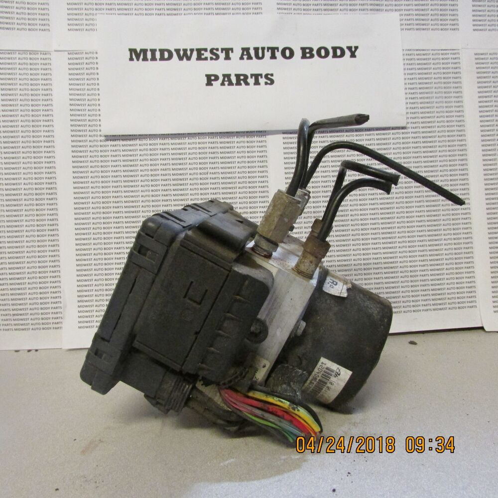hight resolution of details about 1999 2000 2001 ford explorer abs anti lock brake module