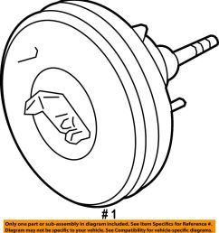 details about ford oem power brake vacuum booster dl3z2005e [ 927 x 1000 Pixel ]