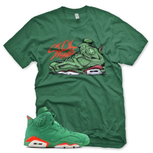 Green Sick Sixes T Shirt Jordan 6 Vi Gatorade