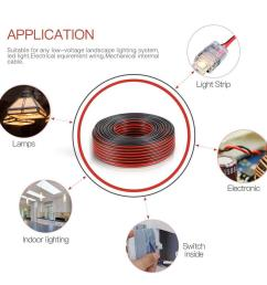 details about 2ft 14 2 awg gauge electrical wire low voltage for landscape lighting system [ 1000 x 1000 Pixel ]