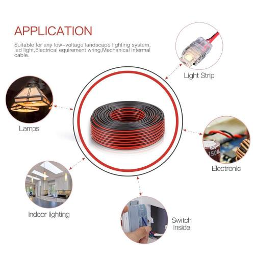 small resolution of details about 2ft 14 2 awg gauge electrical wire low voltage for landscape lighting system