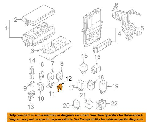 small resolution of details about ford oem 08 10 e 350 super duty 5 4l v8 fuse 4f2z14a604aa