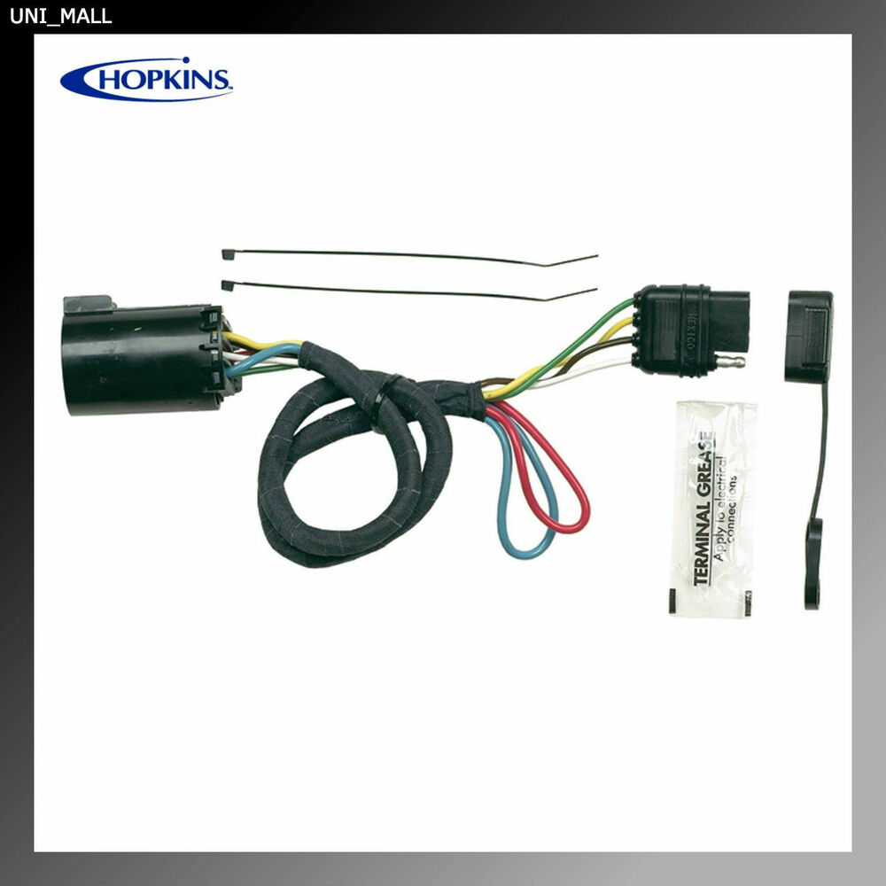 hight resolution of hopkins new 41155 4 wires plug in simple vehicle wiring kit details about hopkins new 41155