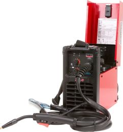 details about lincoln electric century fc 90 flux cored wire feed welder 120v 90a dc output [ 1000 x 1000 Pixel ]