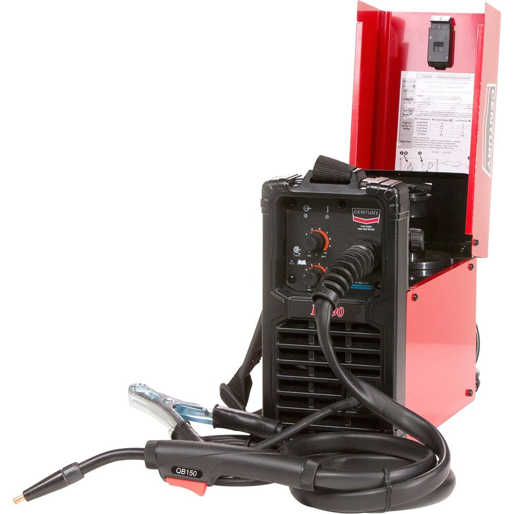 medium resolution of details about lincoln electric century fc 90 flux cored wire feed welder 120v 90a dc output