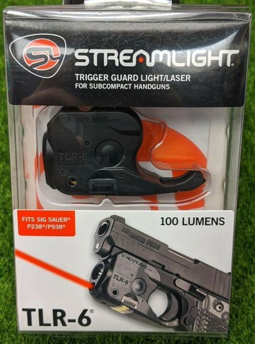 small resolution of details about streamlight 69275 tlr 6 rail mount led light red laser for sig p238 p938