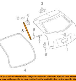 details about cadillac gm oem srx liftgate tail tailgate trunk release latch actuator 23429744 [ 1000 x 798 Pixel ]