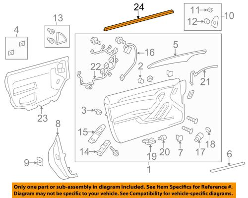 small resolution of details about cadillac gm oem cts door window sweep belt molding weatherstrip right 22752142