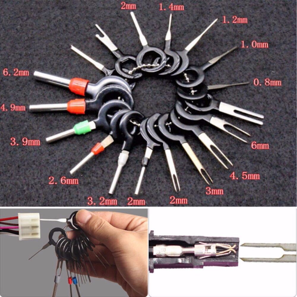hight resolution of details about 26pcs wire terminal removal tool car electrical wiring crimp connector pin kit