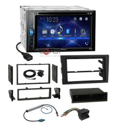 details about pioneer dvd usb bt stereo dash kit harness for 02 08 audi a4 s4 symphony radio [ 1000 x 1000 Pixel ]
