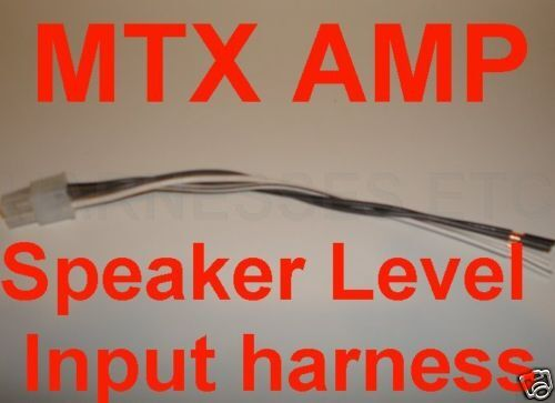 Mtx Amplifier Wiring Diagram