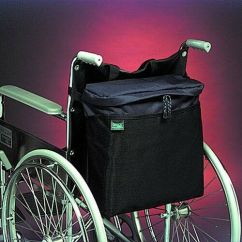Lightweight Folding Chair In A Bag Plans For Adirondack Chairs With Cooler Durable Nylon Rear Wheelchair Backpack | Ebay