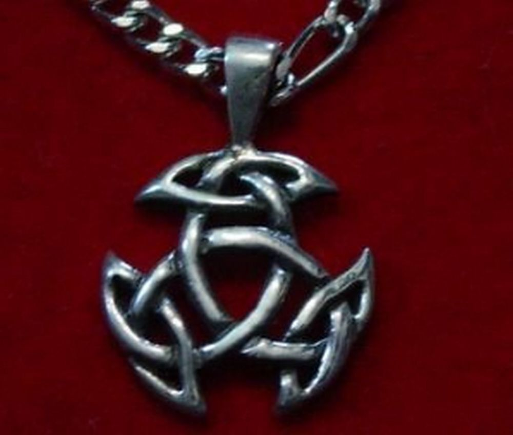 Celtic Good Luck Pendant Charm Silver Jewelry Wicca Ebay