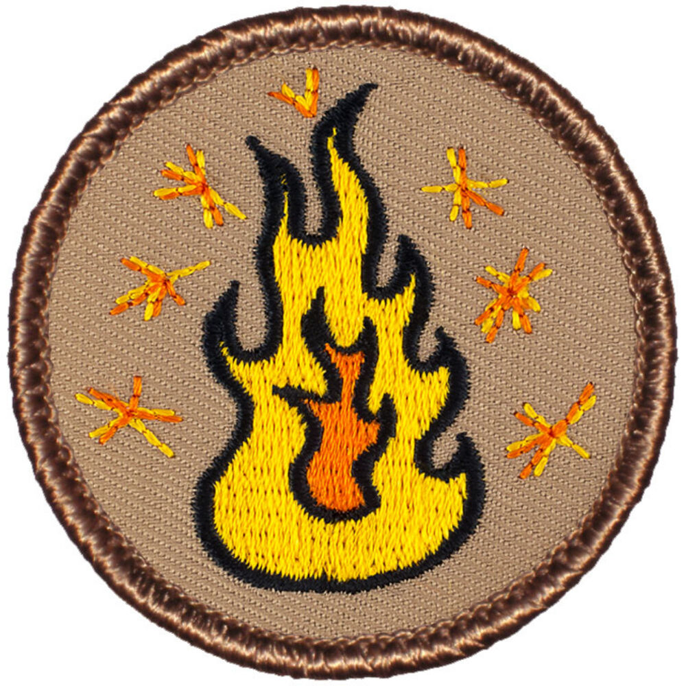 Cool Boy Scout Patches Sparks Patrol 157 Ebay