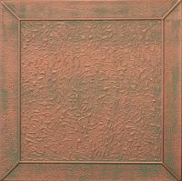 Painted Tin Look Ceiling Tiles COPPER PATINA R27 finish | eBay