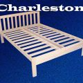 Charleston platform bed queen size hardwood bed frame ebay