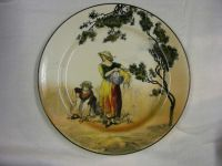 Vintage Royal Doulton The Gleaners Plate 1930's NICE 1 | eBay