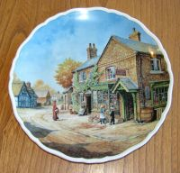 Royal Doulton Decorative Village Life Plate - PENNY WISE ...