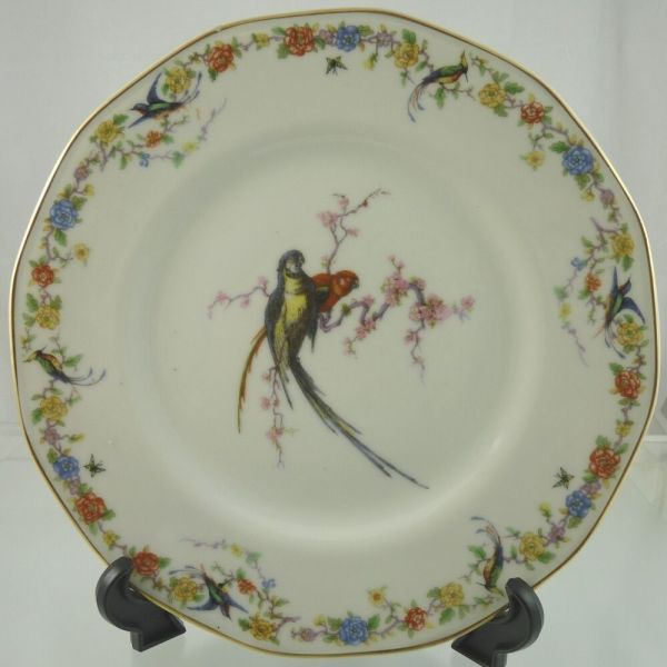 Arcadia With Birds Dinner Plate Theodore Haviland