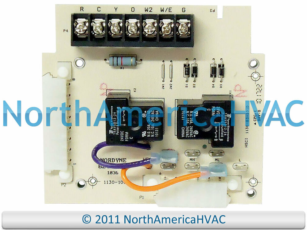York Control Board Wiring Diagram