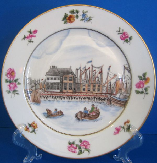 China Trade Reproduction Plate 1750 1760 Metropolitan