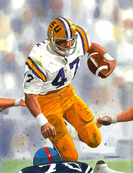 HOKIE GAJAN LSU TIGERS ART PRINT eBay