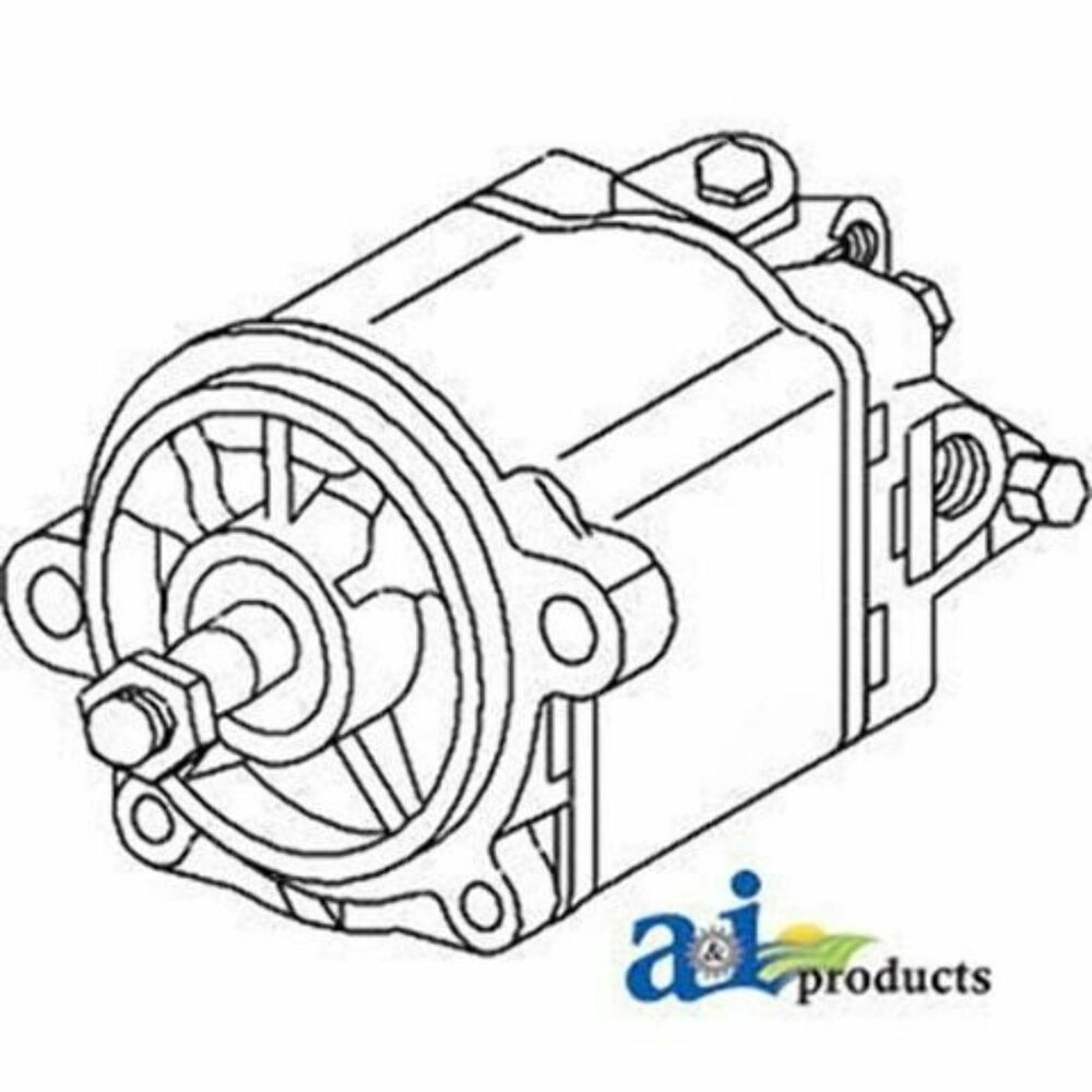 C7NN3A674F Pump, Power Steering Ford / New Holland Tractor