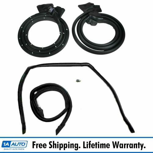 small resolution of  el camino roof door roof rail weatherstrip rubber seals kit set for 78