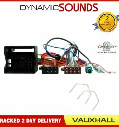 stereo cd radio wiring iso harness aerial for vauxhall astra h cd30 cd70 ebay [ 1000 x 1000 Pixel ]