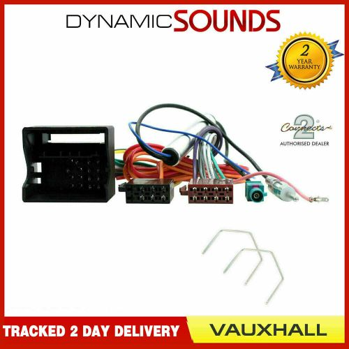 small resolution of stereo cd radio wiring iso harness aerial for vauxhall astra h cd30 cd70 ebay