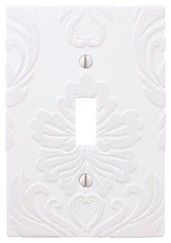 Wallplate Switch Plate & Outlet Covers Flocked Damask