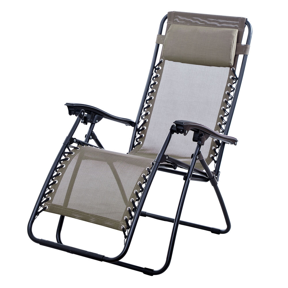 New Lounge Chairs Zero Gravity Folding Recliner Outdoor