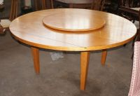 1 Amazing Round Drexel Heritage Table with Lazy Susan ...