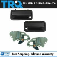 Door Handle Inside & Outside Kit Set of 4 for Chevy GMC ...