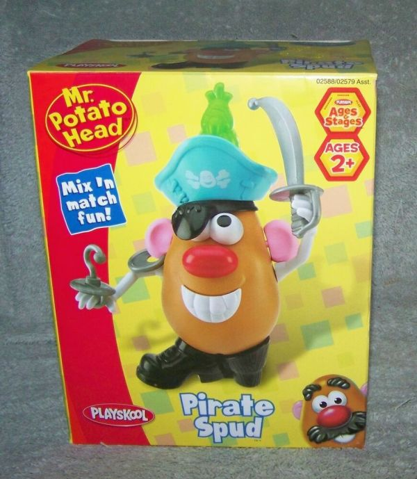 Potato Head 2007 Pirate Spud Set