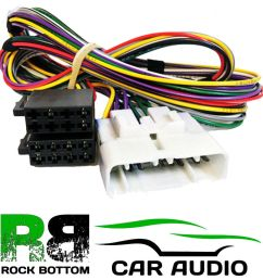 details about pc2 92 4 lexus is200 01 04 amplifier by pass iso car stereo harness adaptor lead [ 1000 x 1000 Pixel ]