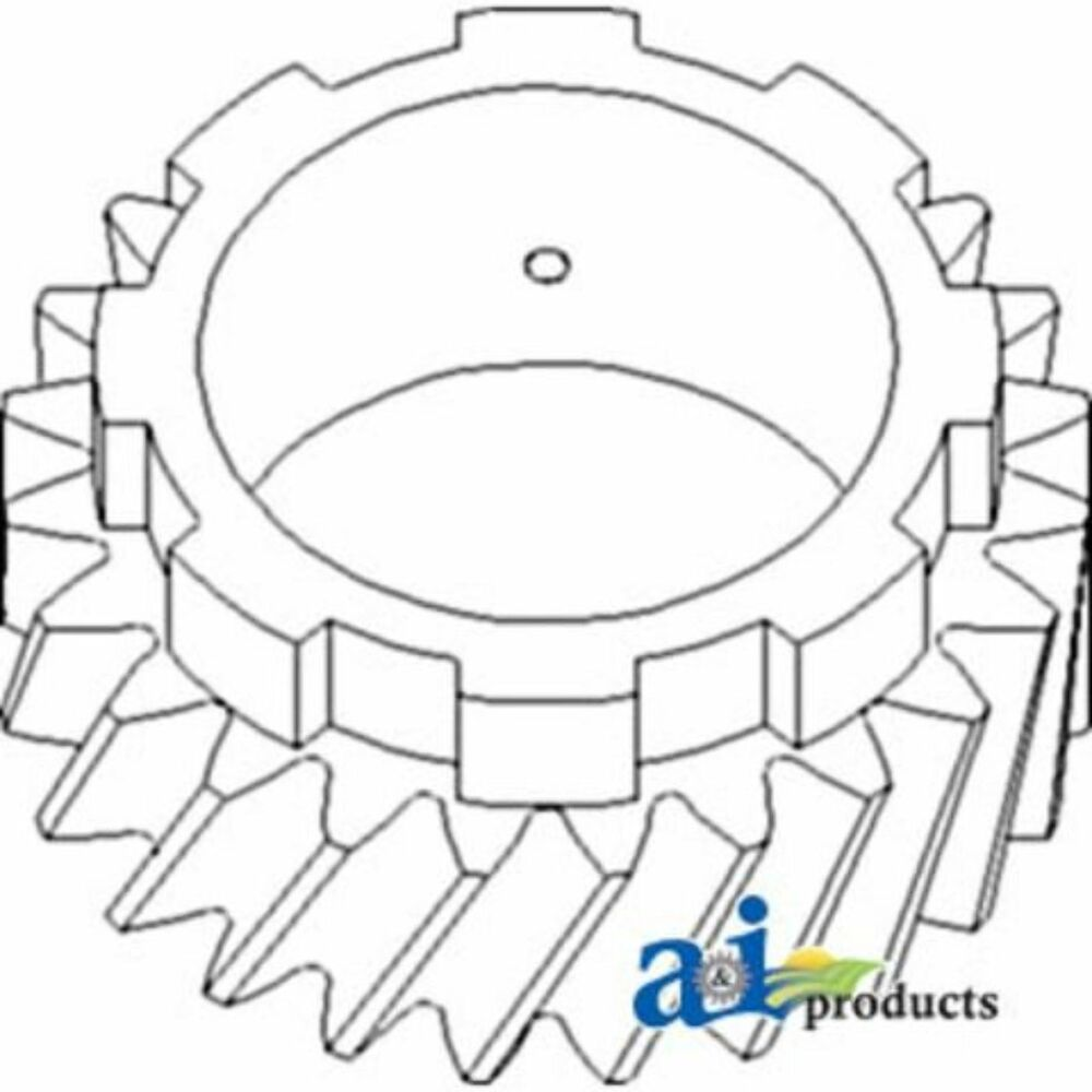 70228294 Gear Pinion Shaft 4th Fits Allis-Chalmers Tractor