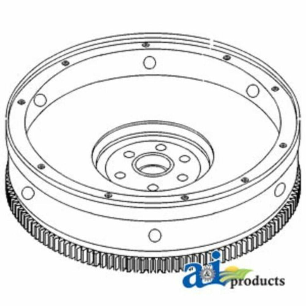 83933404 Flywheel w/ Ring Gear Fits Ford / New Holland
